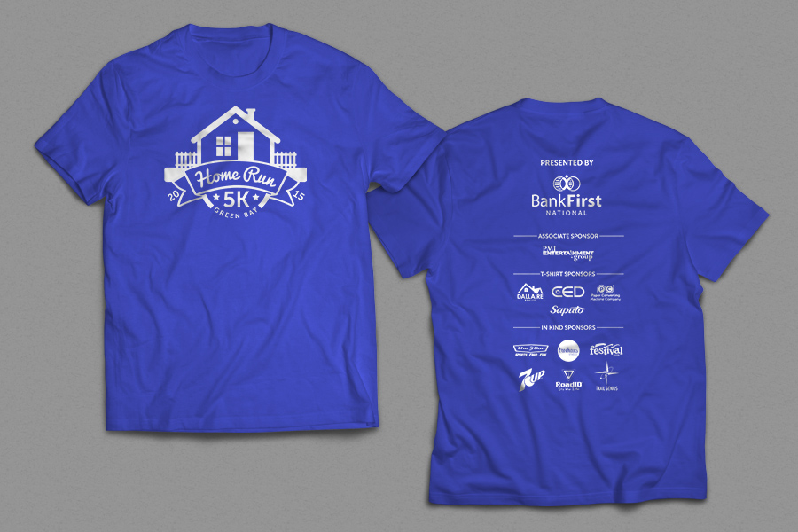 Core Crafted Designs | Green Bay Habitat for Humanity – Home Run 5K